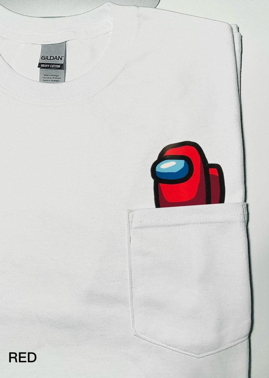 Among Us Pocket T-Shirt