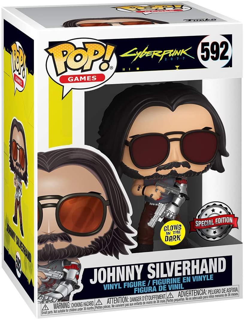Cyberpunk 2077 Johnny Silverhand FunkoPOP