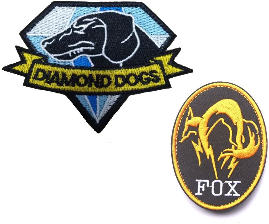 Metal Gear Solid Special Forces Patches