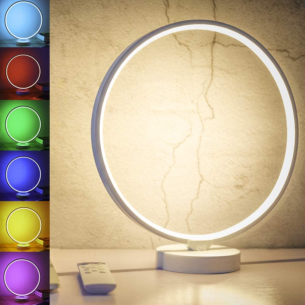 Modern Circle Desk Lamp