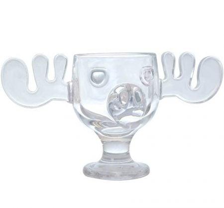 National Lampoon's Christmas Vacation Glass Moose Mug
