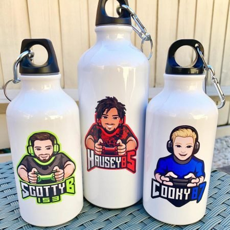 Personalized Gamer Water Bottle