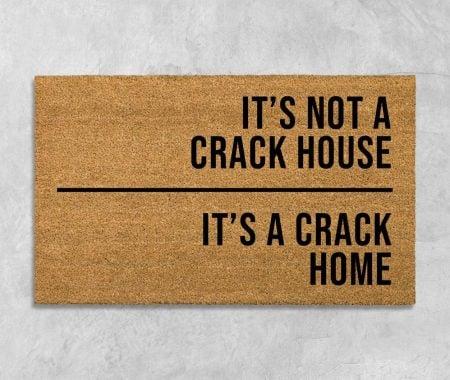 Crack Home Doormat