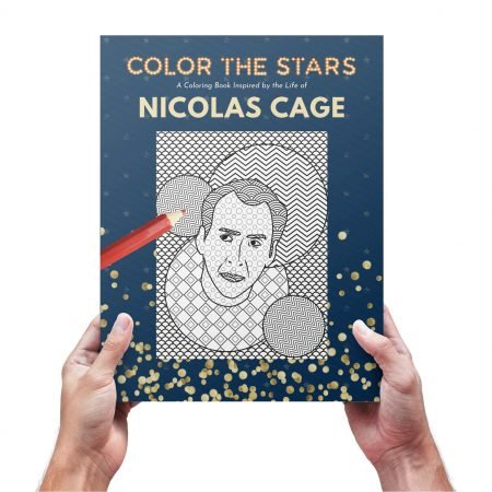 Nicolas Cage Coloring Book