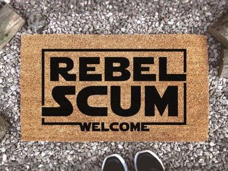 Rebel Scum Welcome Doormat