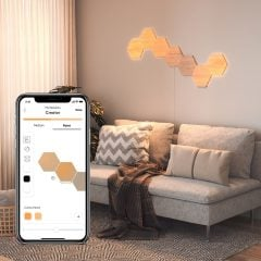 Nanoleaf Elements Wood-Like Smart Lighting Panels