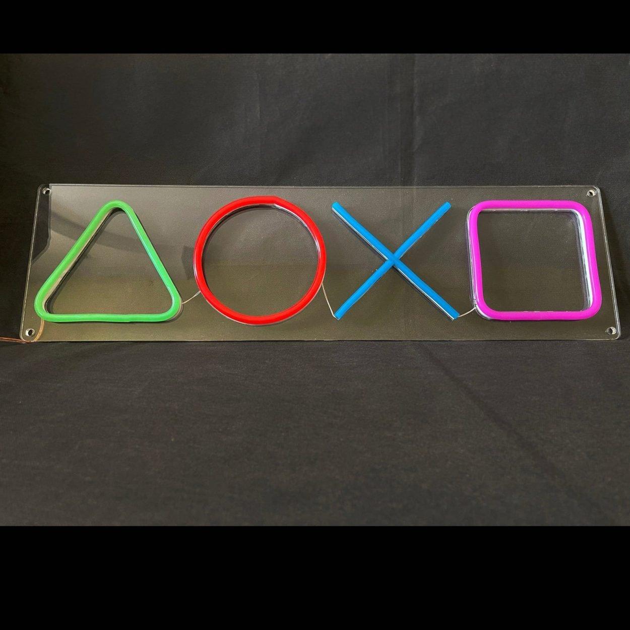 PlayStation Neon Lights